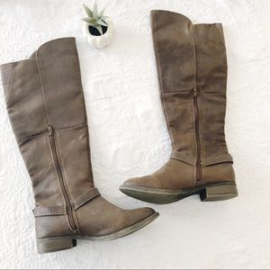 mossimo brown riding boots